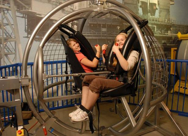 Human Gyroscope 4-Hour Rental w/ 2 Attendants