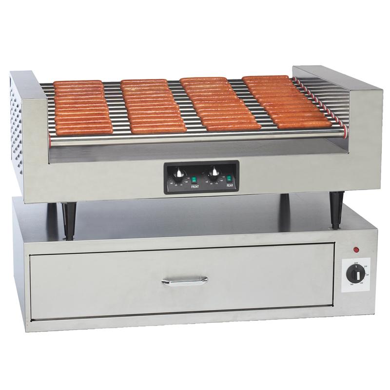 Hot Dog Roller & Bun Warmer