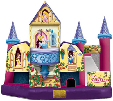 Disney Princess 3D 5-in-1 Combo