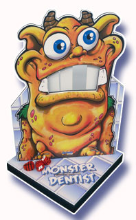 Monster Dentist Tooth Knock Down