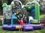 The Magic Bounce Teenage Mutant Ninja Turtles Bouncer/Slide Combo is one of our most popular backyard rentals.