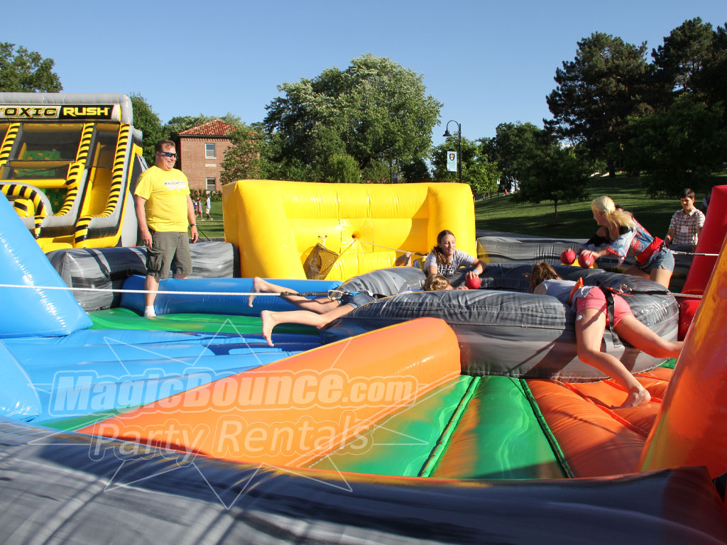 Hippo Chowdown Inflatable Rental-Magic Bounce Party Rentals
