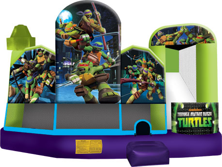 Teenage Mutant Ninja Turtles 5-in-1