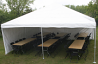 20' x 20' Frame Tent-Installed