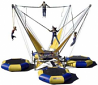 4-Station Bungy Trampoline 4-hour rental