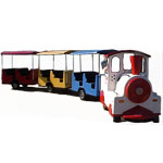 Trackless Train 4-Hour Rental