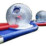 Criss Cross Zorb Ball Challenge