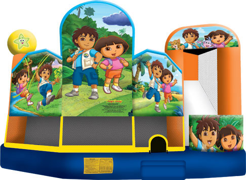 Dora & Diego 5-in-1