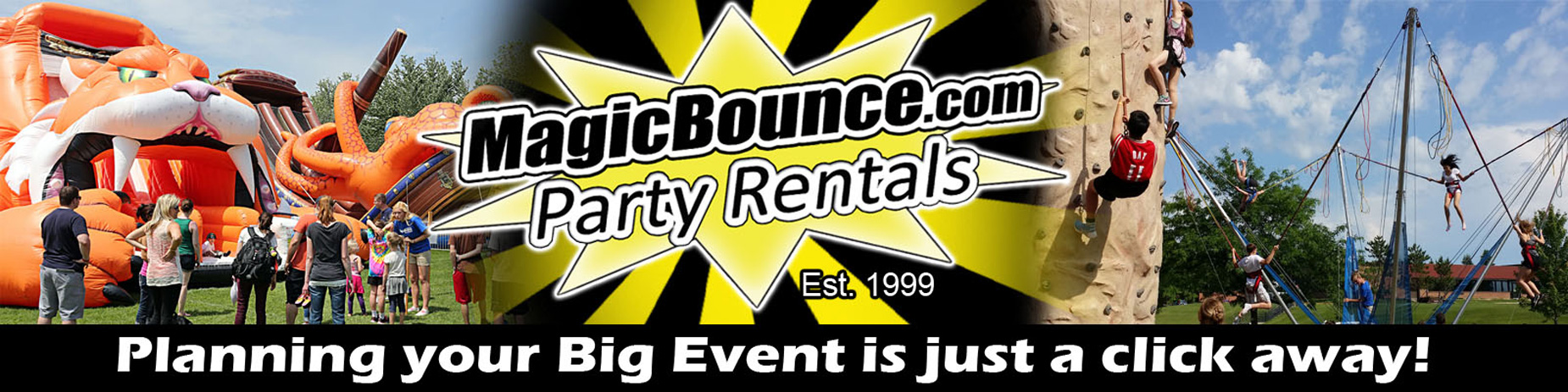 Magic Bounce Party Rentals -Minnesota, Wisconsin, Iowa